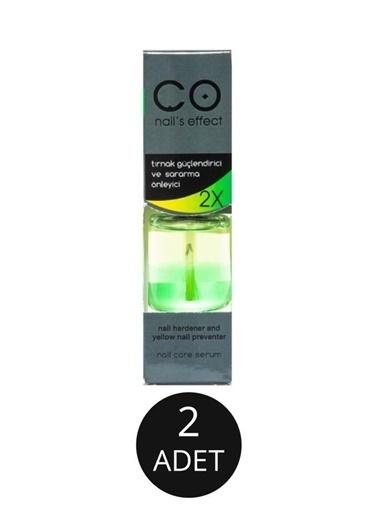 Co Nail's Effect Co Nail'S  Effect Güçlendirici Sararma Önleyici 2 Kat Etkili 12 Ml X2 Adet Renksiz
